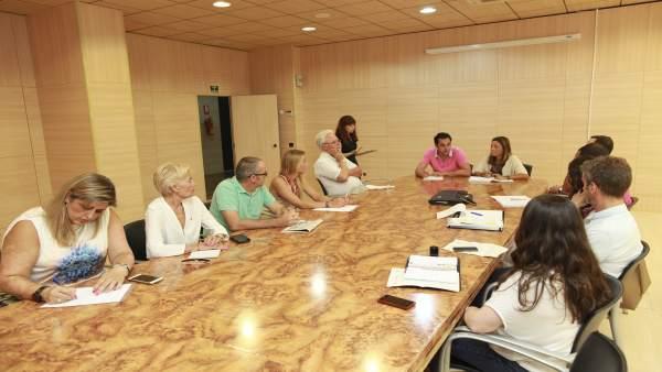 Una reunión establecida en la Mesa de Accesibilidad el pasado julio.