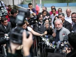 El expresidente brasileño Lula