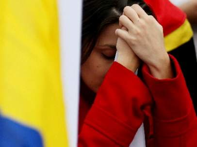 Lágrimas tras el 'no' en Colombia