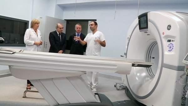 Visita del lehendakari al hospital Donosti.