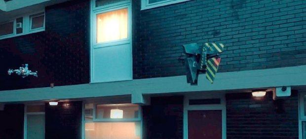 La primera película hecha solo con drones