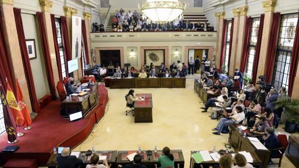 Pleno Ayuntamiento Murcia