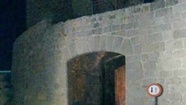 Colisión en la Muralla de Ávila
