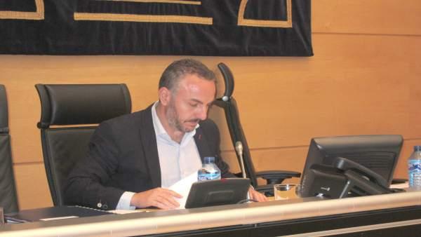 Ignacio Ferreras Plaza en la Comisión del HUBU