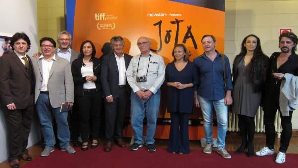 Presentación de 'Jota' de Carlos Saura, hoy en Zaragoza