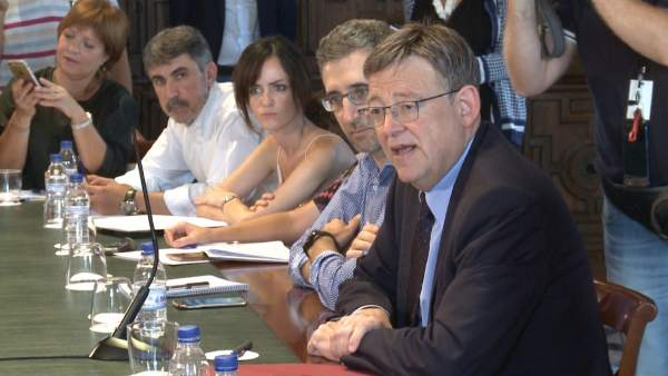 """Ximo Puig: """"En este moment no es donen les circumstàncies per a donar suport a Rajoy, però este debat s'ha de produir"""""""