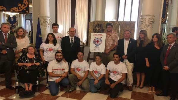 PRsentación del Día de la Banderita en Málaga