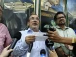 Los líderes de las FARC, Timochenko e Iván Márquez, en La Habana