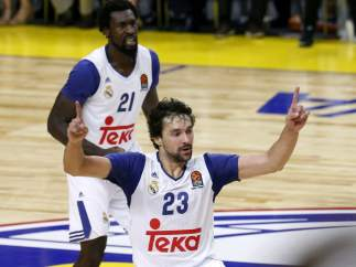 Sergio Llull, del Real Madrid