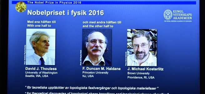 Nobel de Física 2016