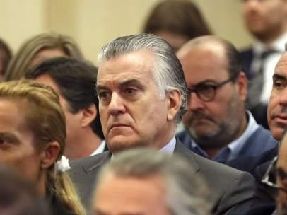 Luis Bárcenas en el juicio por la Gürtel