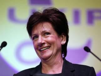 Diane James, líder del UKIP durante solo 18 días