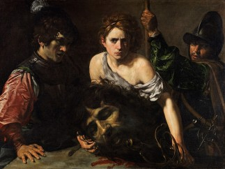 Valentin de Boulogne (French, Coulommiers-en-Brie 1591–1632 Rome) - David with the Head of Goliath, Ca. 1615-16