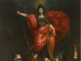 Valentin de Boulogne (French, Coulommiers-en-Brie 1591–1632 Rome) - The Allegory of Italy , 1628-29
