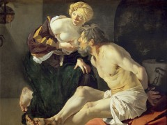 Dirck van Baburen - Cimon and Pero (Roman Charity), 1622-3