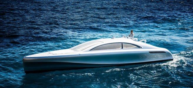 Así es el nuevo yate de lujo de Mercedes-Benz