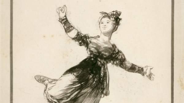 'Cuidado Con Ese Paso', Obra De Francisco De Goya Y Lucientes