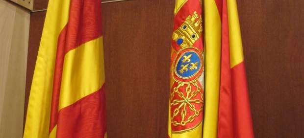 Bandera Catalana Y Española