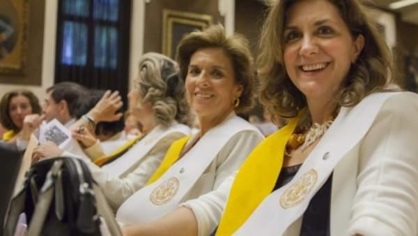 Alumnas de la Universidad de Mayores