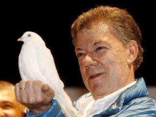 Juan Manuel Santos, Nobel de la Paz