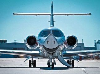 Avión sonriente