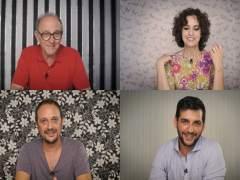 Emilio Gutiérrrez Caba, Adriana Ozores, Fran Perea y Luis Callejo