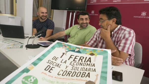 Rafael del Castillo, David Comet y Miguel Navazo