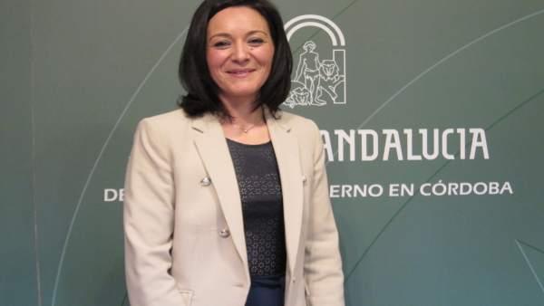 La delegada del Gobierno andaluz en Córdoba, Rafi Crespín