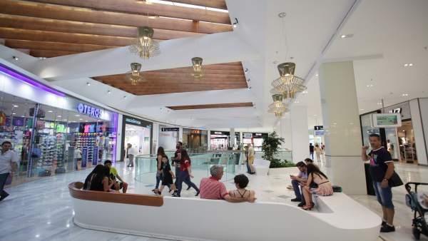 Instalaciones del Centro Comercial Los Arcos de Sevilla.