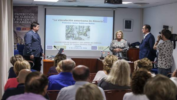 Conferencia sobre la huella de la provincia de Almería en América