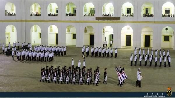La Armada conmemora la muerte de Cervantes y la batalla de Lepanto