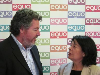 Juan López De Uralde E Inés Sabanés