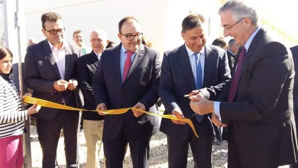 Inauguración de la granja Valseca
