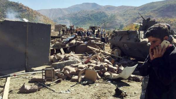 Ataque bomba en Turquía