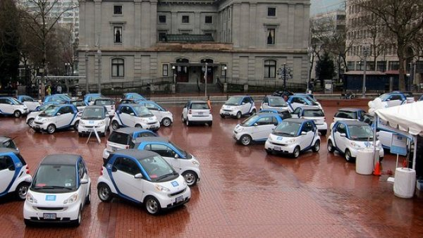 Grupo de coches Car2Go