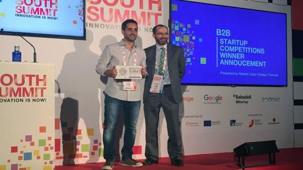 Ndp Geoblink Premiada Como Mejor Startup B2B En El South Summit 2016