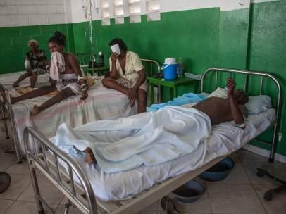 Hospital Haití Matthew