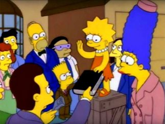 Lisa Simpson, toda una presidenta