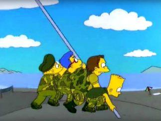 Los Simpson recrean grandes hechos históricos