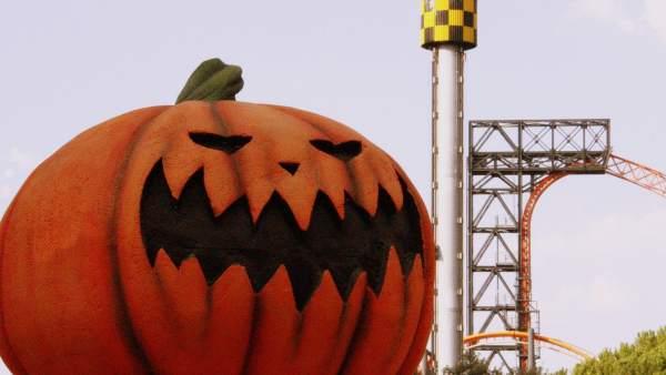 Parque de Atracciones de Madrid, en Halloween.