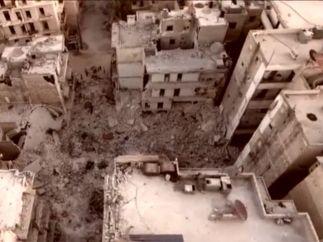 El desastre de Alepo, visto desde el aire