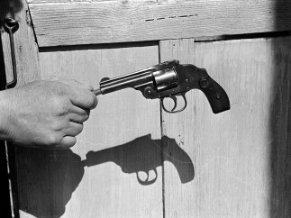 Enrique Metinides - Mexico City, ca. 1970. The murder weapon!
