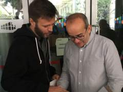 Los concejales de Badalona José Téllez y Oriol Lladó