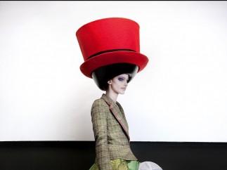 The Vulgar: Fashion Redefined - Walter Van Beirendonck - Hat: Stephen Jones, Autumn/Winter 2010 – 2011