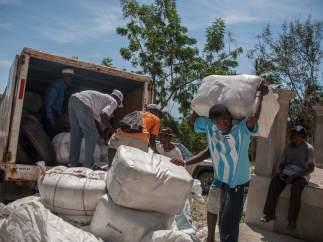 Alimentos Haití tras el paso del huracán Matthew