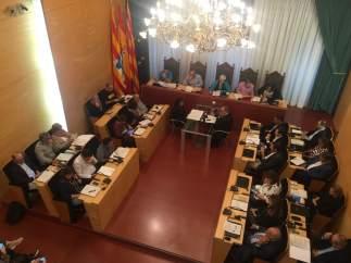 Pleno municipal del Ayuntamiento de Badalona