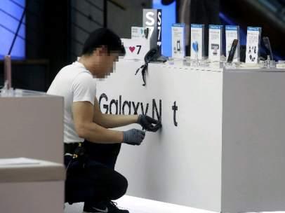 Crisis en Samsung