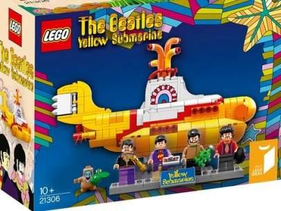 El submarino amarillo de los Beatles, en Lego