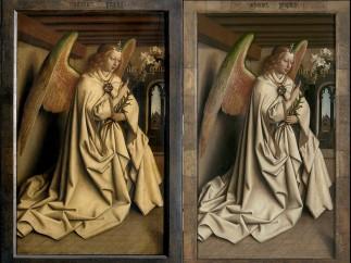 Ángel del Altar de Gante