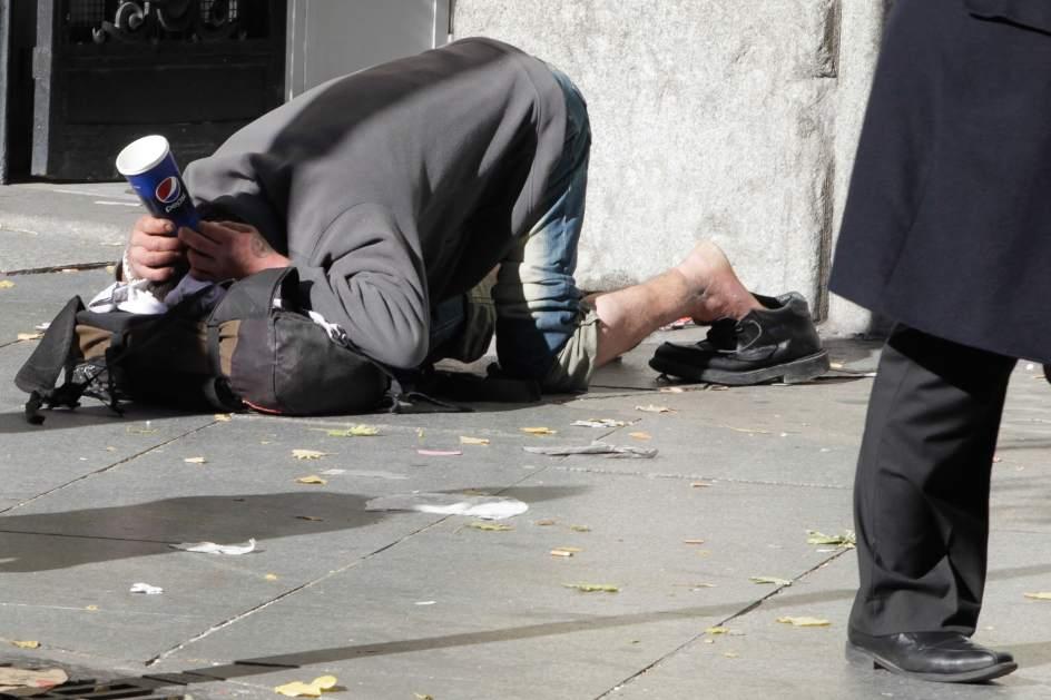 Resultado de imagen de pobreza extrema en la calle